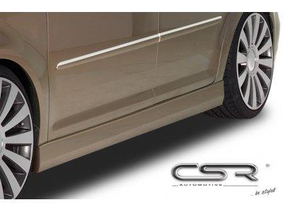 Накладки на пороги от CSR Automotive на VW Touran I рестайл