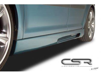 Накладки на пороги от CSR Automotive на VW Touran I Hatchback