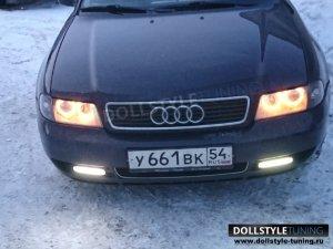 Фары на Audi A4 B5 (г.Новосиб)