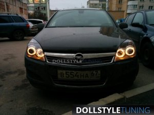 Фары Angel Eyes Astra H (г. Смоленск)