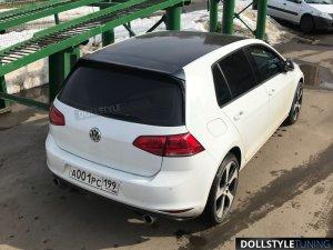 Спойлер GTI на VW Golf VII (г.Москва)