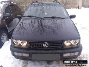 Фары на VW Passat B4 (г.Клин)