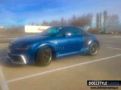 Накладки на пороги Regula Tuning на Audi TT 8N