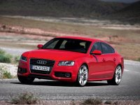 Тюнинг обвес на Audi A5 8T : передний и задний бампер RS5, пороги, накладка на бампер, спойлер