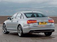 На Audi A6 C7 - задняя альтернативная оптика, задние тюнинговые фонари