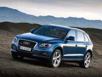 На Audi Q5 купить передние фары