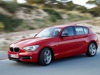 На BMW 1 F20 спортивная регулируемая подвеска, пружины с занижением
