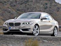 На BMW 2 F22 пружины с занижением, спортивная регулируемая подвеска