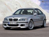 На BMW 3 E46 решётка радиатора