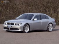 На BMW 7 E65 решётка радиатора