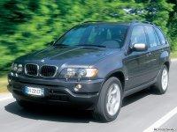 На BMW X5 E53 пружины с занижением, спортивная регулируемая подвеска