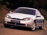 На Ford Cougar пружины с занижением, спортивная регулируемая подвеска
