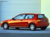 На Honda Civic V задняя альтернативная оптика, фонари