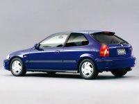 На Honda Civic VI задняя альтернативная оптика, фонари