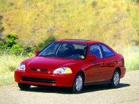 На Honda Civic VI передние альтернативные фары