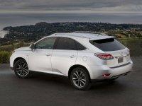 На Lexus RX III с 2009 по 2012 год задняя альтернативная оптика, фонари