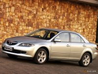 Тюнинг обвес на Mazda 6 GG, GY : накладка на передний и задний бампер, пороги, спойлер.