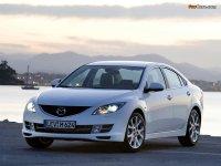 Купить на Mazda 6 GG, GY пружины с занижением, спортивная регулируемая подвеска