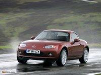 Тюнинг обвес на Mazda MX5 NC : накладка на передний и задний бампер, пороги, спойлер.