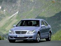 Купить на Mercedes S класс W220 решётку радиатора