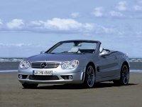 Купить на Mercedes SL класс R230 решётку радиатора