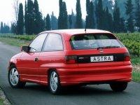На Opel Astra F с 1991 по 1997 год задняя альтернативная оптика, фонари