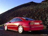 На Opel Calibra - задняя альтернативная оптика, фонари