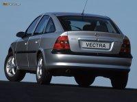На Opel Vectra B - задняя альтернативная оптика, фонари