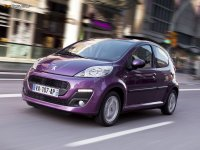 Купить на Peugeot 107 пружины с занижением, спортивная регулируемая подвеска
