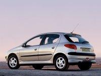 На Peugeot 206 задняя альтернативная оптика, фонари