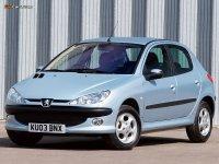 Купить на Peugeot 206 пружины с занижением, спортивная регулируемая подвеска
