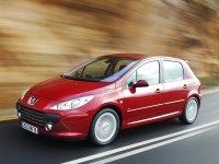 На Peugeot 307 пружины с занижением, спортивная регулируемая подвеска