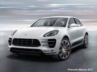 Обвес на Porsche Macan тюнинг - накладка на бампер, пороги, реснички.