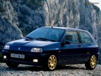 На Renault Clio I с 1990 по 1996 год купить передние альтернативные фары.