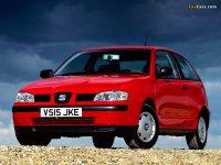 На Seat Ibiza 6K с 1993 по 2000 год передние альтернативные фары