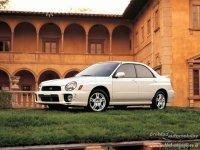 На Subaru Impreza II с 2000 по 2007 год передние альтернативные фары