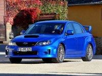 На Subaru Impreza III год передние фары и альтернативная оптика