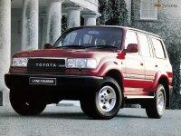 На Toyota Land Cruiser 80 с 1990 по 1997 год передние альтернативные фары