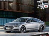 Обвес тюнинг на Volkswagen Arteon : накладка на бампер, пороги, спойлер.