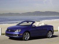 На Volkswagen Eos пружины с занижением, спортивная регулируемая подвеска