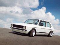 На Volkswagen Golf I с 1974 по 1983 года передние альтернативные фары