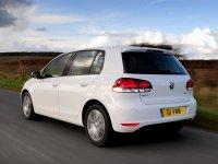 На VW Golf VI задние фонари, альтернативная оптика