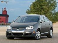 Аэродинамический обвес на VW Jetta V : накладка на передний и задний бампер, пороги.