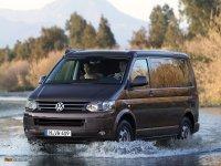На VW Transporter / Multivan T5 передние альтернативные фары