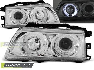 Фары передние Angel Eyes Chrome от Tuning-Tec для Honda CRX