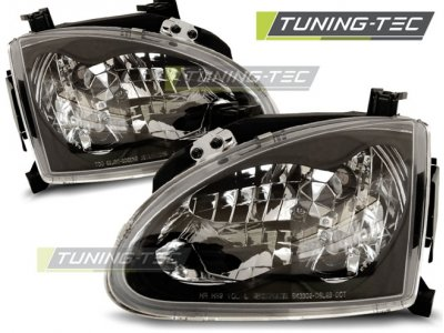 Фары передние Black от Tuning-Tec для Honda CRX Del Sol