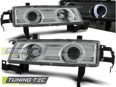Фары передние Angel Eyes Chrome от Tuning-Tec для Honda Prelude IV