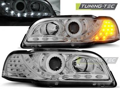 Фары передние Daylight LED Chrome на Volvo S40