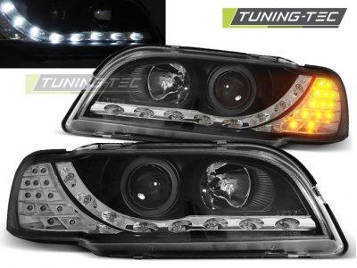 Фары передние Daylight LED Black на Volvo S40