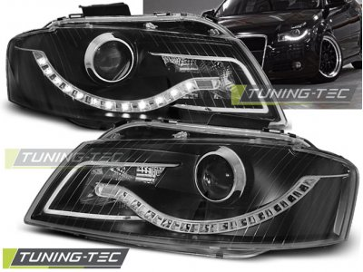Фары передние Daylight Black для Audi A3 8P